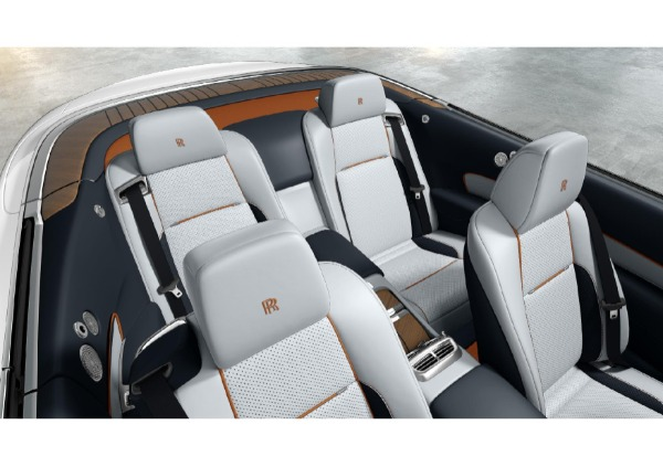New 2021 Rolls-Royce Dawn for sale Call for price at Bugatti of Greenwich in Greenwich CT 06830 4