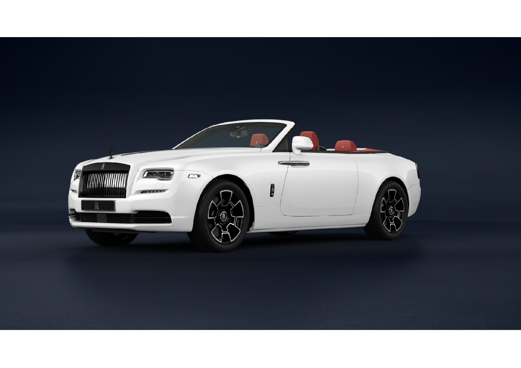 New 2021 Rolls-Royce Dawn Black Badge for sale Sold at Bugatti of Greenwich in Greenwich CT 06830 1