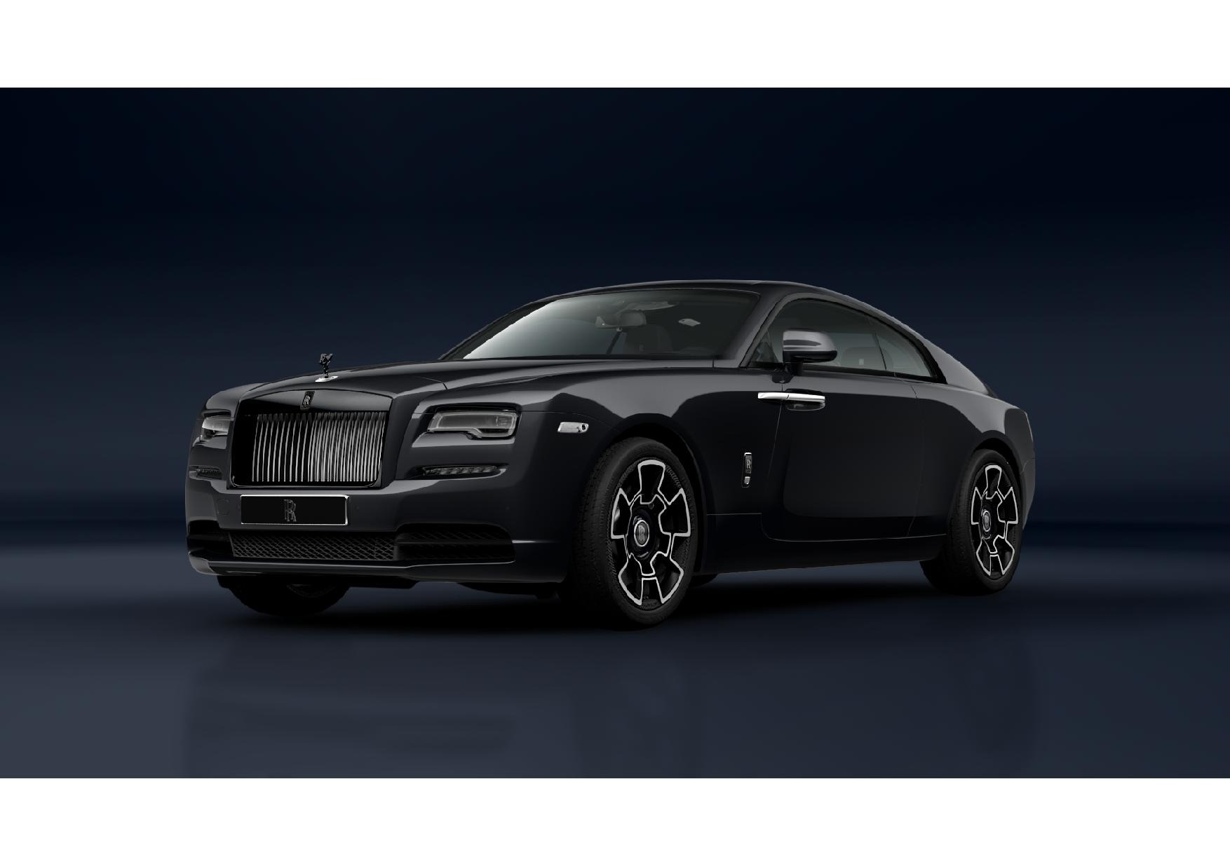 New 2021 Rolls-Royce Wraith Black Badge for sale Call for price at Bugatti of Greenwich in Greenwich CT 06830 1