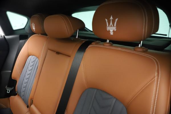 New 2021 Maserati Levante Q4 GranLusso for sale $93,385 at Bugatti of Greenwich in Greenwich CT 06830 19