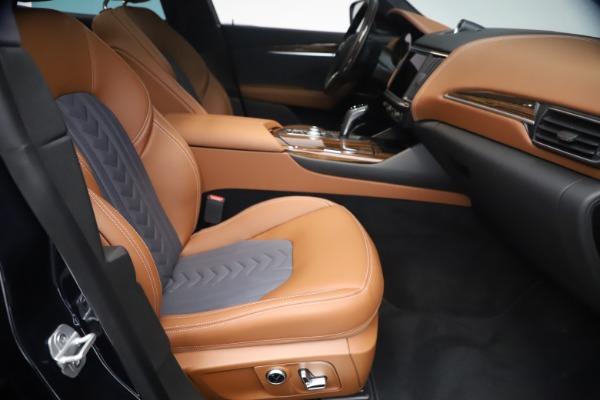 New 2021 Maserati Levante Q4 GranLusso for sale $93,385 at Bugatti of Greenwich in Greenwich CT 06830 22