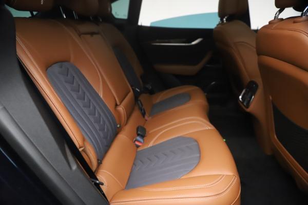 New 2021 Maserati Levante Q4 GranLusso for sale $93,385 at Bugatti of Greenwich in Greenwich CT 06830 24