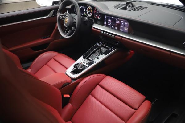 Used 2021 Porsche 911 Turbo S for sale Sold at Bugatti of Greenwich in Greenwich CT 06830 16