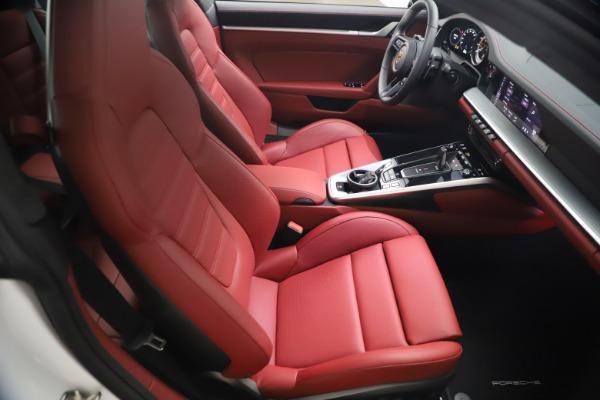 Used 2021 Porsche 911 Turbo S for sale Sold at Bugatti of Greenwich in Greenwich CT 06830 17
