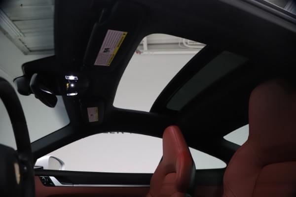 Used 2021 Porsche 911 Turbo S for sale Sold at Bugatti of Greenwich in Greenwich CT 06830 19