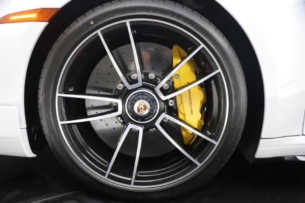 Used 2021 Porsche 911 Turbo S for sale Sold at Bugatti of Greenwich in Greenwich CT 06830 24