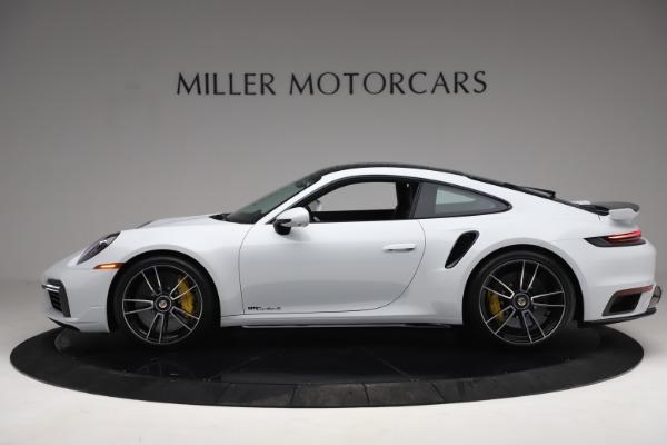 Used 2021 Porsche 911 Turbo S for sale Sold at Bugatti of Greenwich in Greenwich CT 06830 3