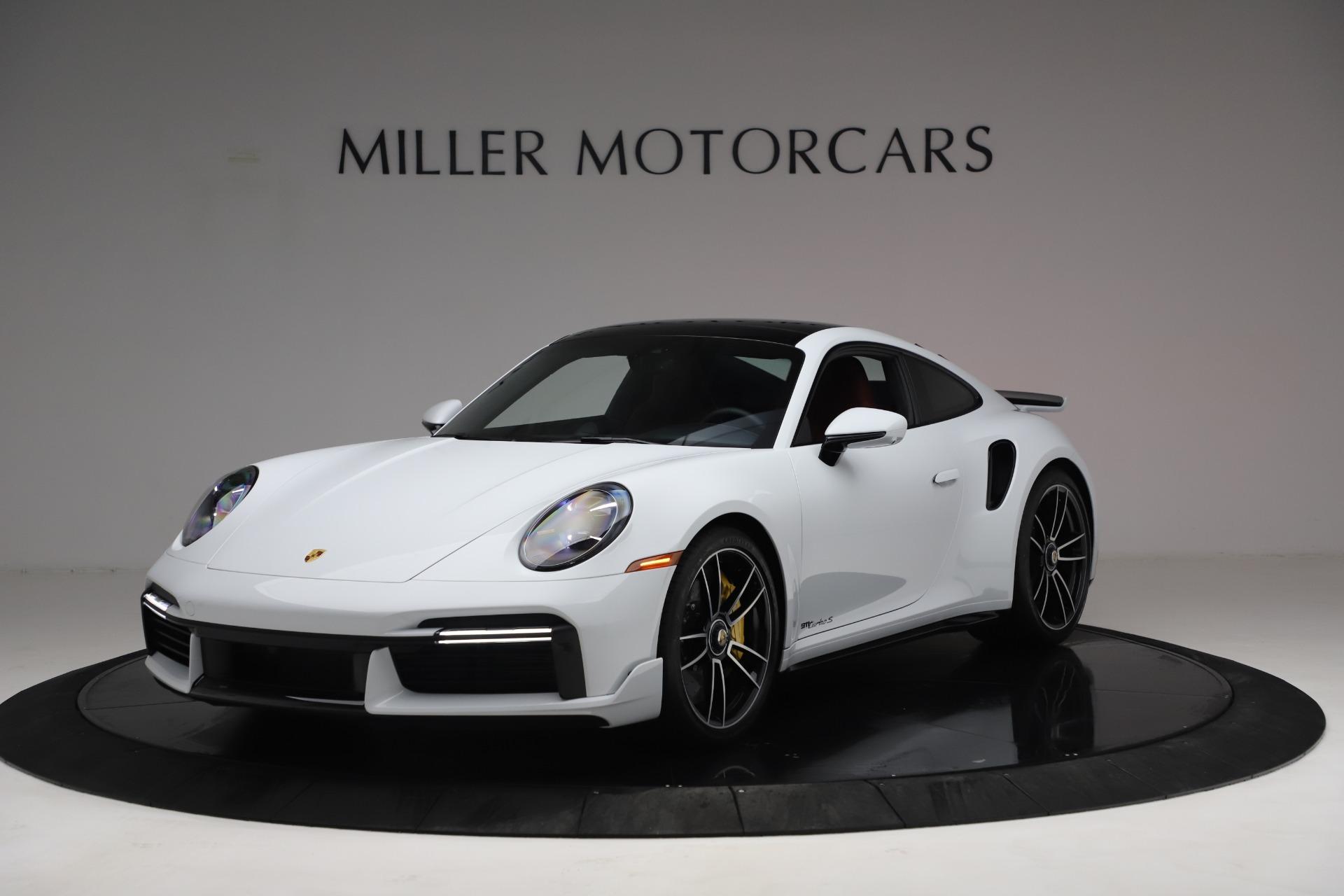 Used 2021 Porsche 911 Turbo S for sale Sold at Bugatti of Greenwich in Greenwich CT 06830 1