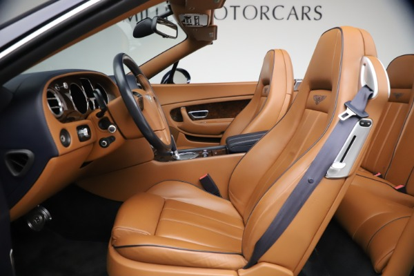 Used 2011 Bentley Continental GTC GT for sale Sold at Bugatti of Greenwich in Greenwich CT 06830 26