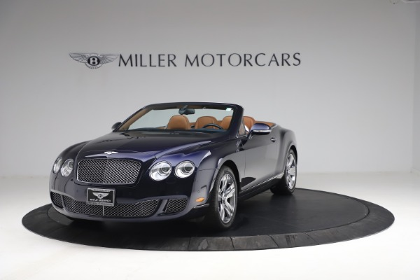 Used 2011 Bentley Continental GTC GT for sale Sold at Bugatti of Greenwich in Greenwich CT 06830 1