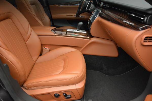 New 2016 Maserati Quattroporte S Q4 for sale Sold at Bugatti of Greenwich in Greenwich CT 06830 22
