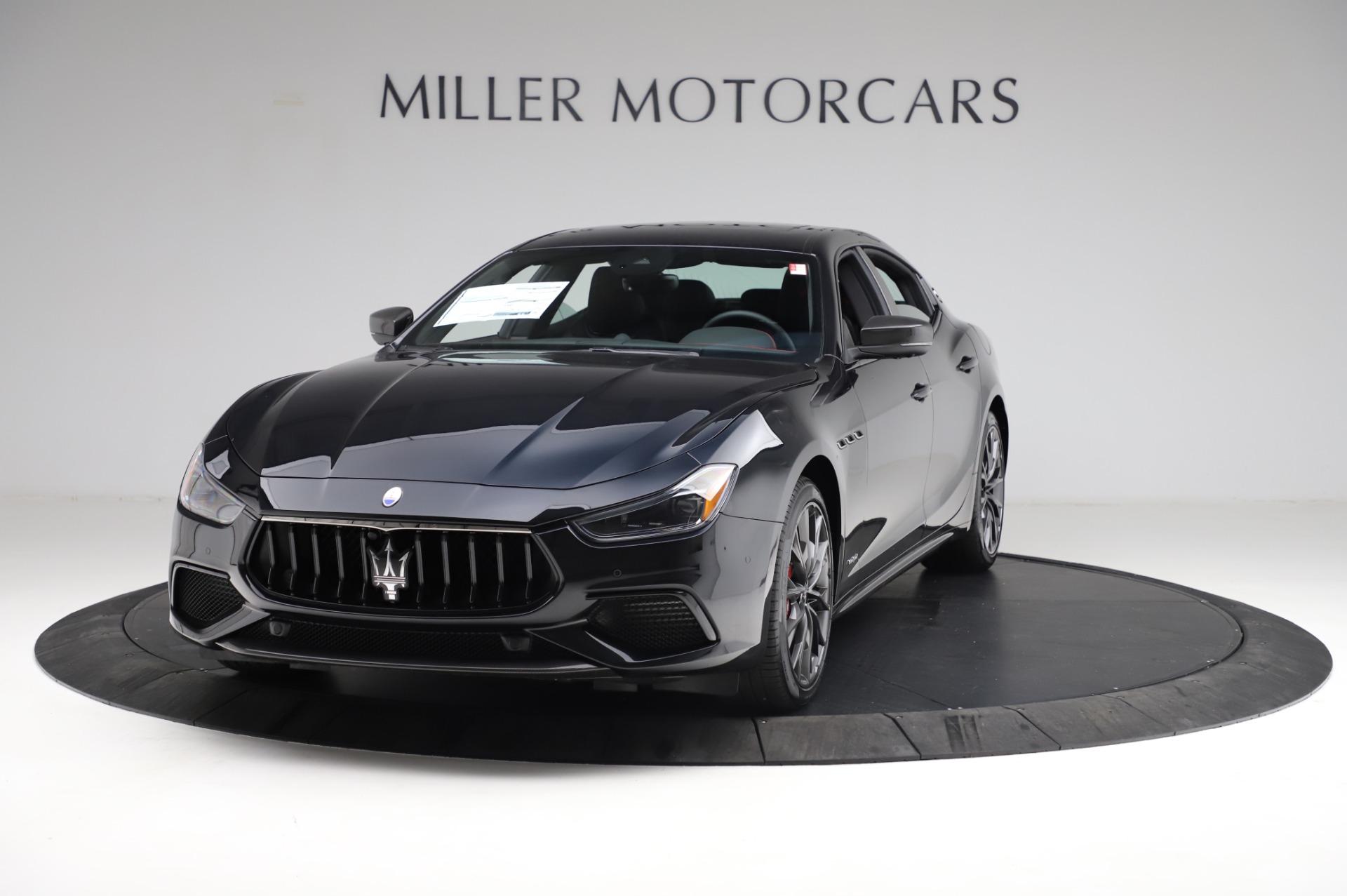New 2021 Maserati Ghibli S Q4 GranSport for sale $100,635 at Bugatti of Greenwich in Greenwich CT 06830 1