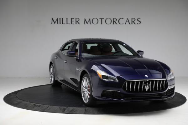 New 2021 Maserati Quattroporte S Q4 GranLusso for sale Sold at Bugatti of Greenwich in Greenwich CT 06830 12