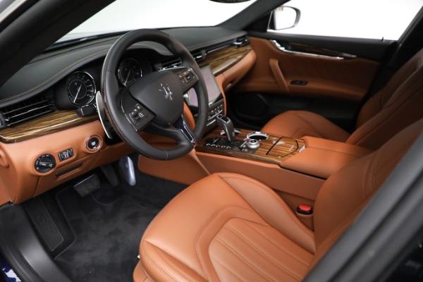 New 2021 Maserati Quattroporte S Q4 GranLusso for sale Sold at Bugatti of Greenwich in Greenwich CT 06830 14