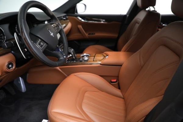New 2021 Maserati Quattroporte S Q4 GranLusso for sale Sold at Bugatti of Greenwich in Greenwich CT 06830 15