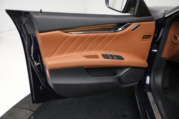 New 2021 Maserati Quattroporte S Q4 GranLusso for sale Sold at Bugatti of Greenwich in Greenwich CT 06830 17