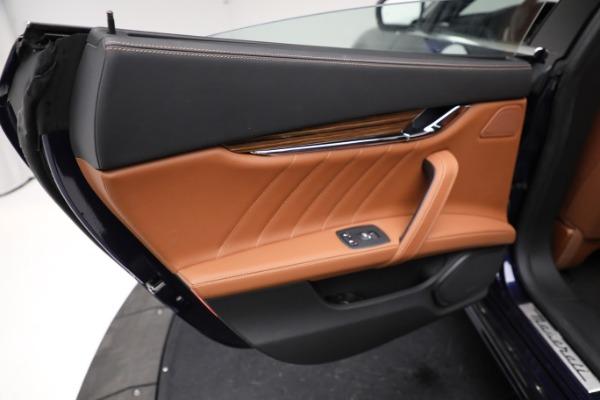 New 2021 Maserati Quattroporte S Q4 GranLusso for sale Sold at Bugatti of Greenwich in Greenwich CT 06830 21