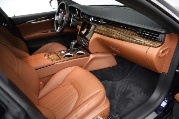 New 2021 Maserati Quattroporte S Q4 GranLusso for sale Sold at Bugatti of Greenwich in Greenwich CT 06830 22