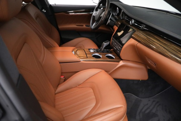 New 2021 Maserati Quattroporte S Q4 GranLusso for sale Sold at Bugatti of Greenwich in Greenwich CT 06830 23