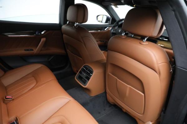 New 2021 Maserati Quattroporte S Q4 GranLusso for sale Sold at Bugatti of Greenwich in Greenwich CT 06830 25