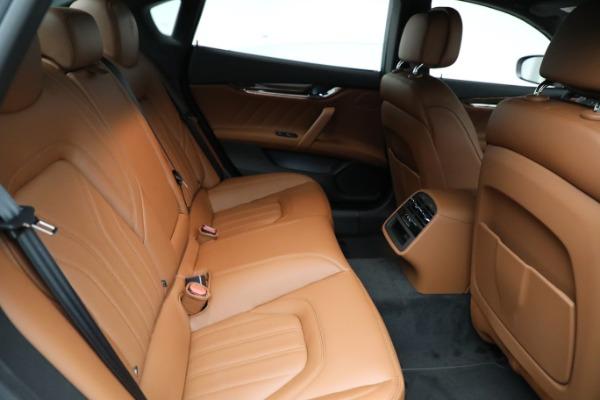 New 2021 Maserati Quattroporte S Q4 GranLusso for sale Sold at Bugatti of Greenwich in Greenwich CT 06830 26
