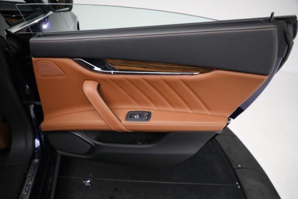 New 2021 Maserati Quattroporte S Q4 GranLusso for sale Sold at Bugatti of Greenwich in Greenwich CT 06830 28