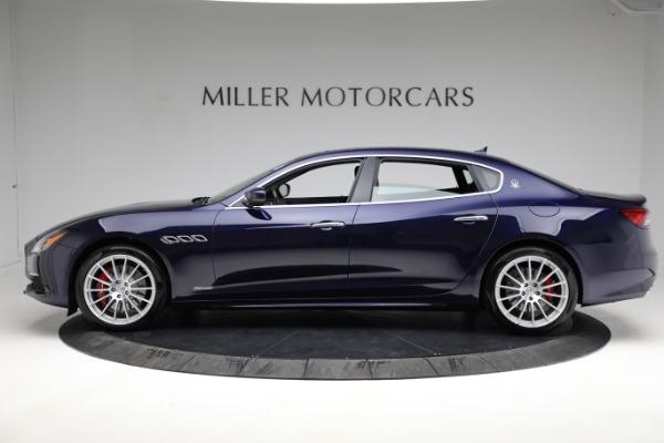 New 2021 Maserati Quattroporte S Q4 GranLusso for sale Sold at Bugatti of Greenwich in Greenwich CT 06830 3