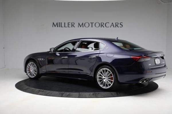 New 2021 Maserati Quattroporte S Q4 GranLusso for sale Sold at Bugatti of Greenwich in Greenwich CT 06830 4