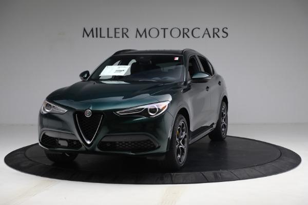 New 2021 Alfa Romeo Stelvio Ti Sport Q4 for sale $58,500 at Bugatti of Greenwich in Greenwich CT 06830 1