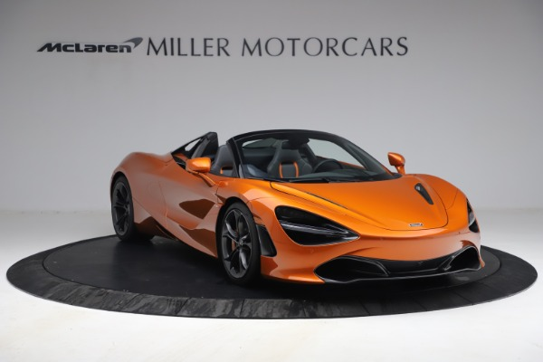 Used 2020 McLaren 720S Spider for sale $335,900 at Bugatti of Greenwich in Greenwich CT 06830 11