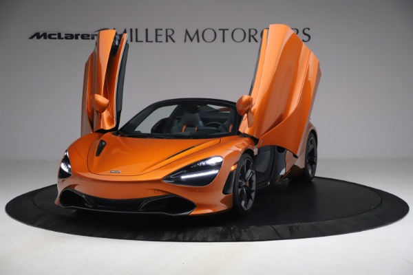 Used 2020 McLaren 720S Spider for sale $335,900 at Bugatti of Greenwich in Greenwich CT 06830 13