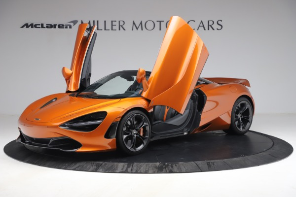 Used 2020 McLaren 720S Spider for sale $335,900 at Bugatti of Greenwich in Greenwich CT 06830 14
