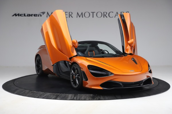 Used 2020 McLaren 720S Spider for sale $335,900 at Bugatti of Greenwich in Greenwich CT 06830 23