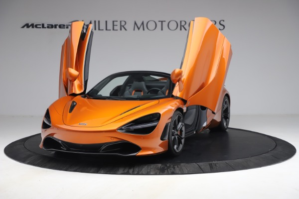 Used 2020 McLaren 720S Spider for sale $335,900 at Bugatti of Greenwich in Greenwich CT 06830 25