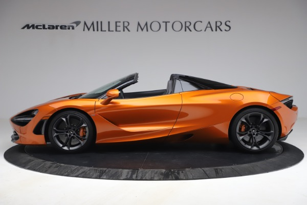 Used 2020 McLaren 720S Spider for sale $335,900 at Bugatti of Greenwich in Greenwich CT 06830 3