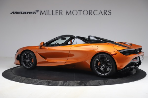 Used 2020 McLaren 720S Spider for sale $335,900 at Bugatti of Greenwich in Greenwich CT 06830 4