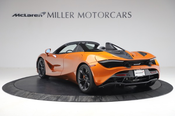 Used 2020 McLaren 720S Spider for sale $335,900 at Bugatti of Greenwich in Greenwich CT 06830 5