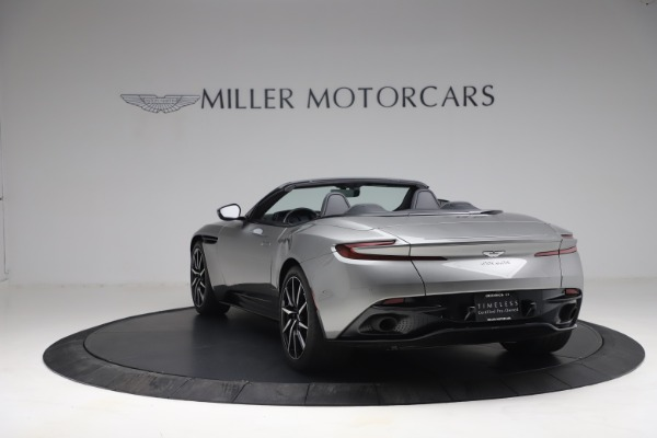 Used 2019 Aston Martin DB11 Volante for sale $209,900 at Bugatti of Greenwich in Greenwich CT 06830 4