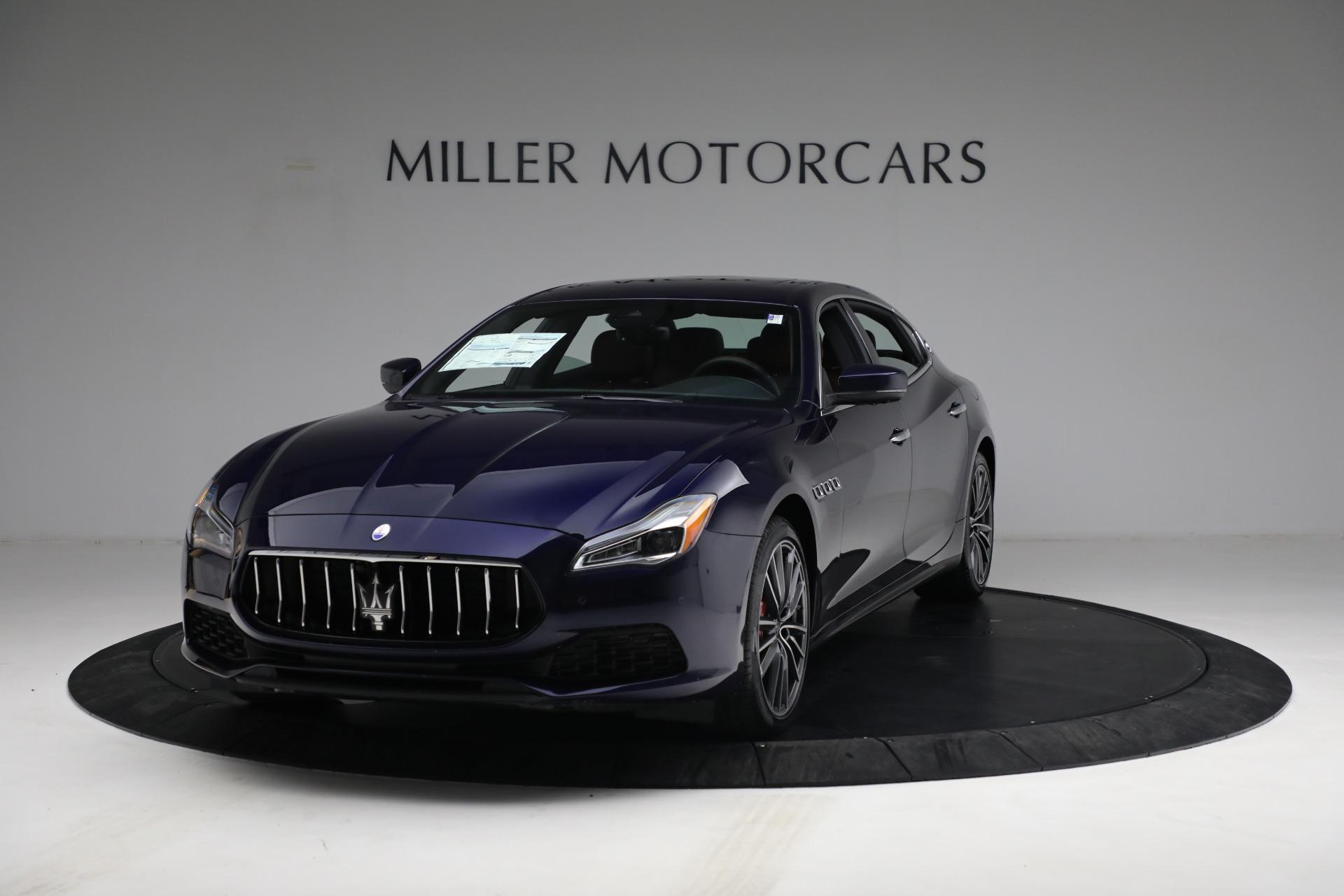 New 2021 Maserati Quattroporte S Q4 for sale $121,749 at Bugatti of Greenwich in Greenwich CT 06830 1
