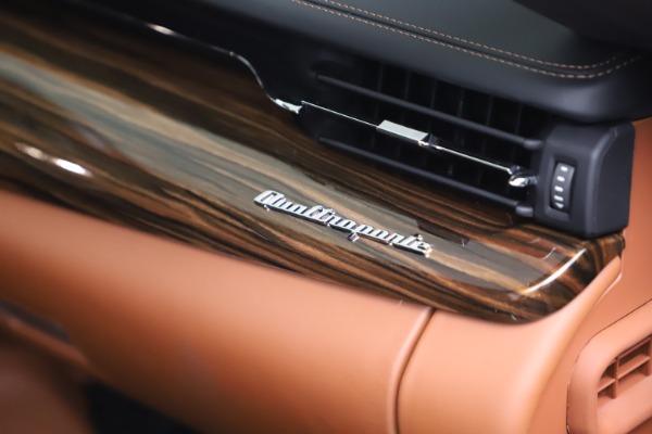 New 2021 Maserati Quattroporte S Q4 GranLusso for sale $129,135 at Bugatti of Greenwich in Greenwich CT 06830 21