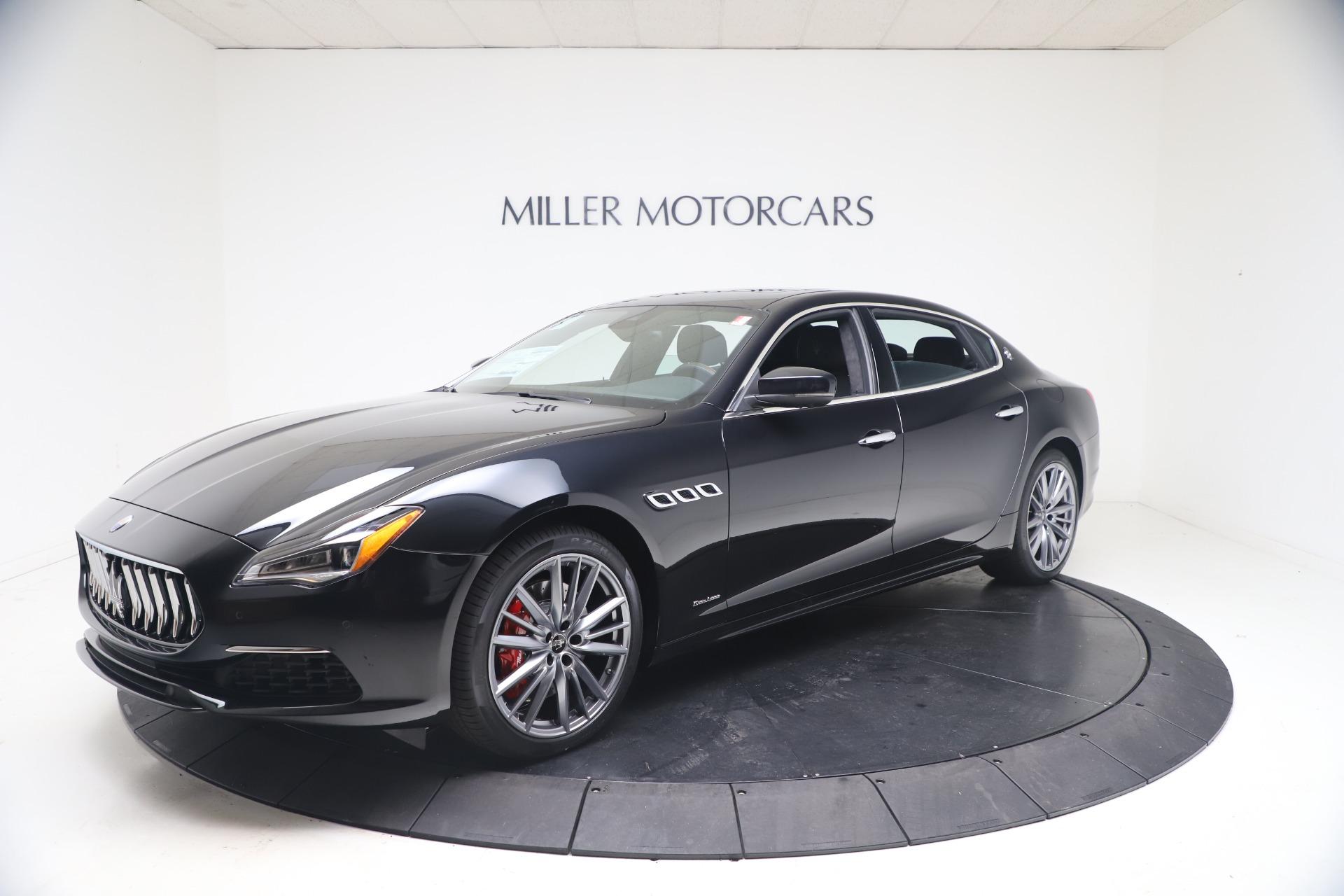 New 2021 Maserati Quattroporte S Q4 GranLusso for sale $129,135 at Bugatti of Greenwich in Greenwich CT 06830 1