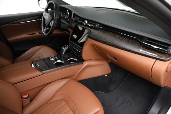 New 2021 Maserati Quattroporte S Q4 GranLusso for sale $120,599 at Bugatti of Greenwich in Greenwich CT 06830 19