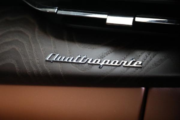 New 2021 Maserati Quattroporte S Q4 GranLusso for sale $120,599 at Bugatti of Greenwich in Greenwich CT 06830 22