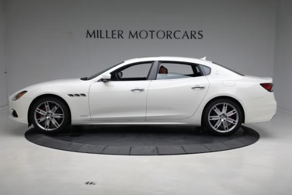 New 2021 Maserati Quattroporte S Q4 GranLusso for sale $120,599 at Bugatti of Greenwich in Greenwich CT 06830 3