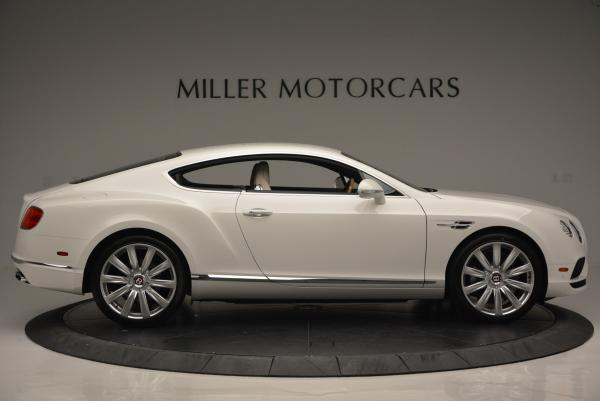 New 2016 Bentley Continental GT V8 for sale Sold at Bugatti of Greenwich in Greenwich CT 06830 9