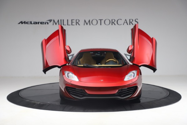 Used 2012 McLaren MP4-12C for sale Call for price at Bugatti of Greenwich in Greenwich CT 06830 12