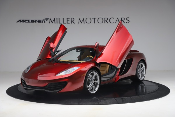 Used 2012 McLaren MP4-12C for sale Call for price at Bugatti of Greenwich in Greenwich CT 06830 13