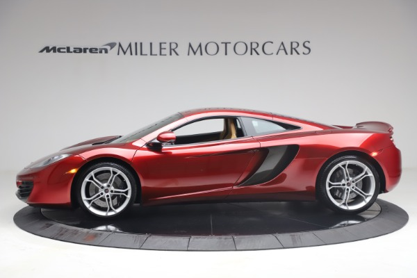 Used 2012 McLaren MP4-12C for sale Call for price at Bugatti of Greenwich in Greenwich CT 06830 2