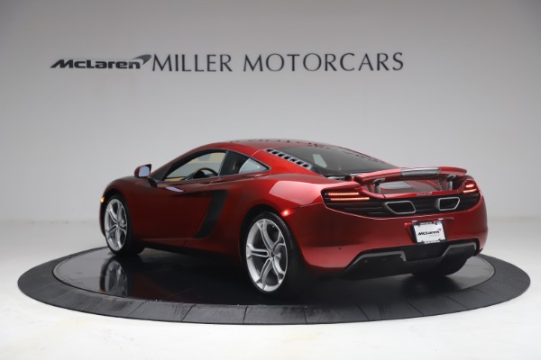 Used 2012 McLaren MP4-12C for sale Call for price at Bugatti of Greenwich in Greenwich CT 06830 4