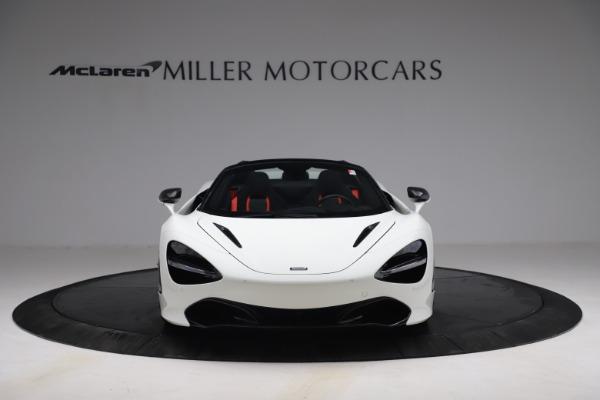 New 2021 McLaren 720S Spider for sale $366,670 at Bugatti of Greenwich in Greenwich CT 06830 10